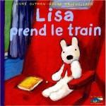 Lisa prend le train