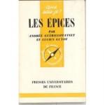 Les Epices de Andree Guerillot-Vinet - Livre