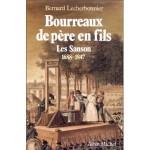 Bourreaux de pere en fils les Sanson 1688-1847  fr