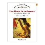 Les Lieux de mémoire fr