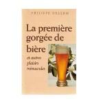 La première gorgée de bière-fr