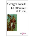 La littérature et le mal-fr