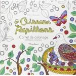 Coloriages oiseaux et papillons - fr