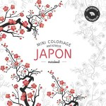 Mini Coloriage Antistress Japon